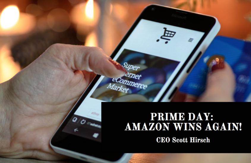 Prime Day: Amazon Wins Again!