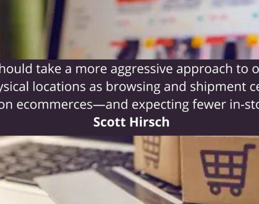 Scott Hirsch Retailers should take a more aggressive approach to online